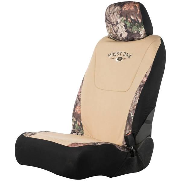 Mossy Oak Khaki Low Back Seat Cover
