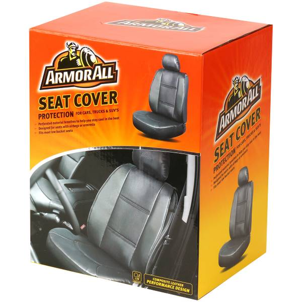 Performance Grey Sideless Seat Cover