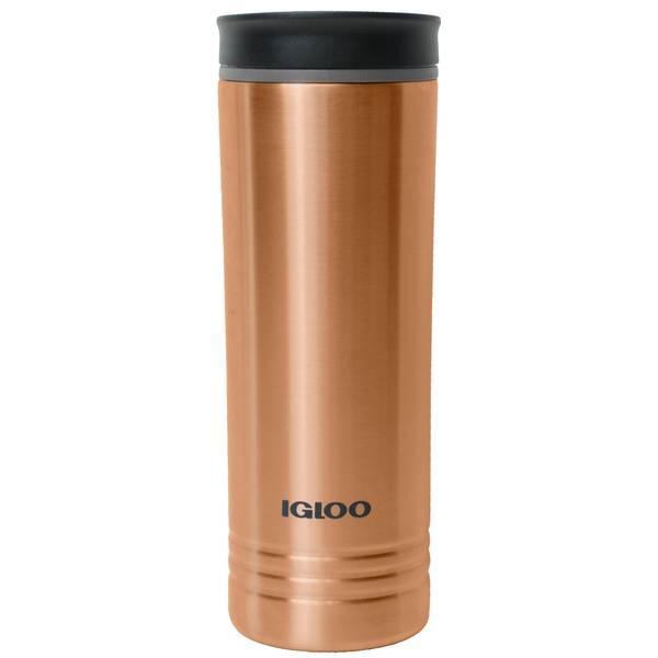64a5d1f28cc2 Igloo 20 oz Copper Isabel Stainless Steel Vacuum Coffee Mug