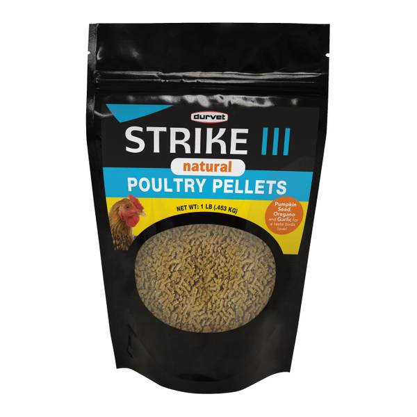 1 lb Natural Strike III Poultry Pellets