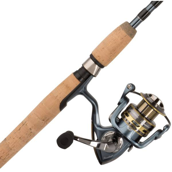 President Spinning Combo Fishing Reel Rod