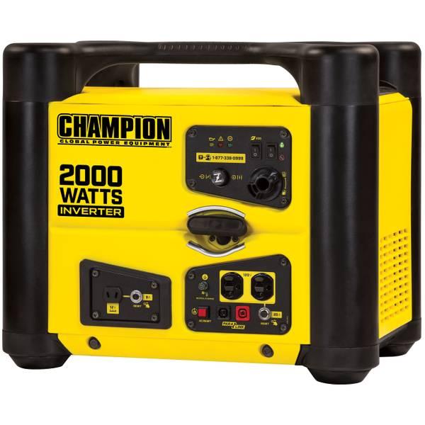 2000-Watt Stackable Portable Inverter Generator