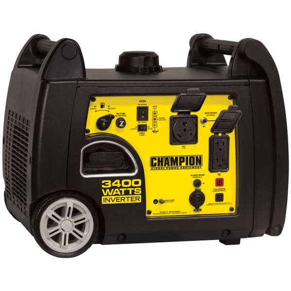 3400-Watt RV Ready Portable Inverter Generator