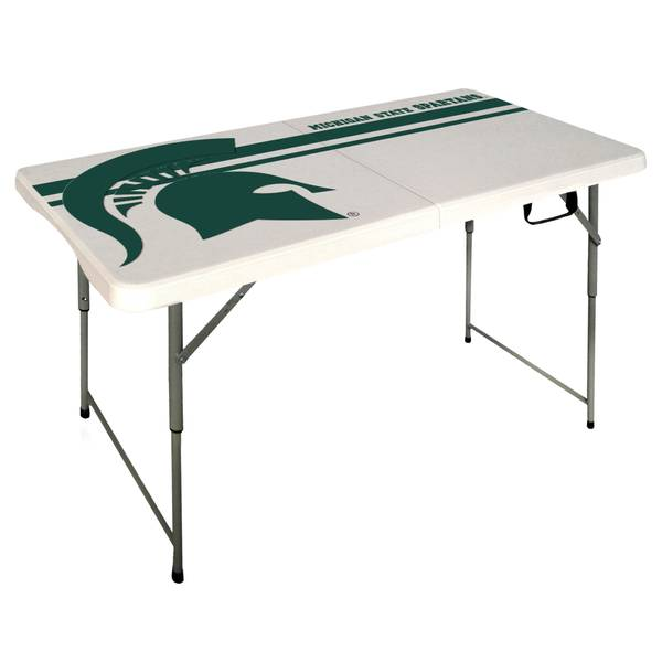 Michigan State Spartans 4' Bifold Table
