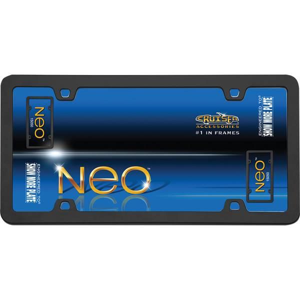 Black Neo License Plater Holder