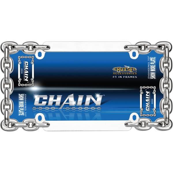 Chrome Chain License Plater Holder