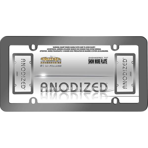 Gray Anodized License Plater Holder