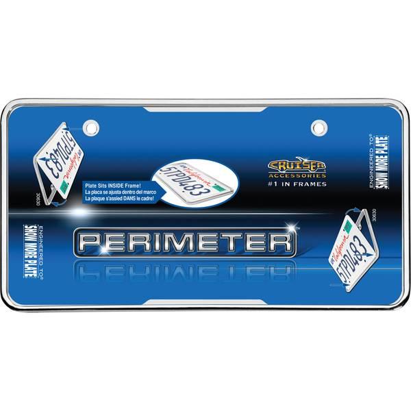 Chrome Perimeter License Plater Holder