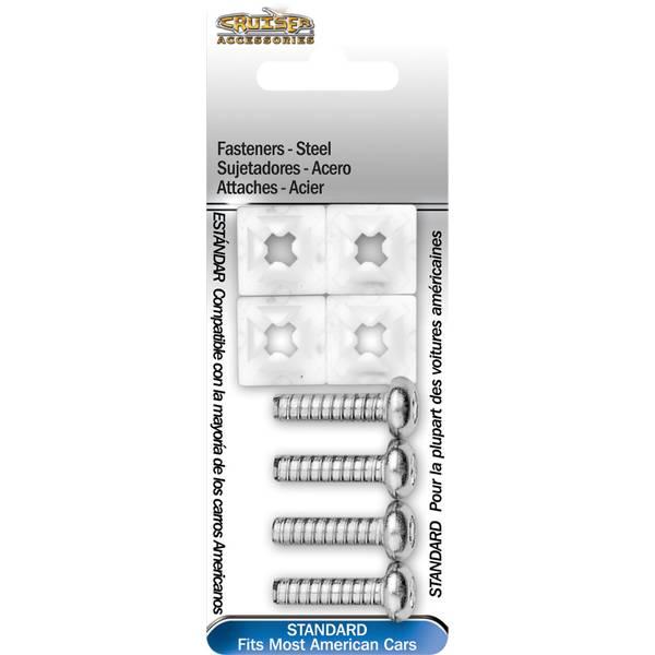 Steel License Plate Fasteners