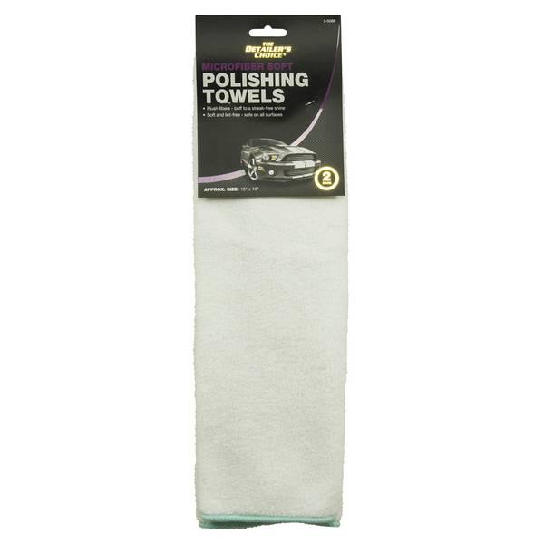 "2-Pack ""SPA"" MicroFiber Towels"