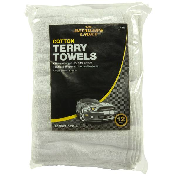 12-Pack Terry Towels
