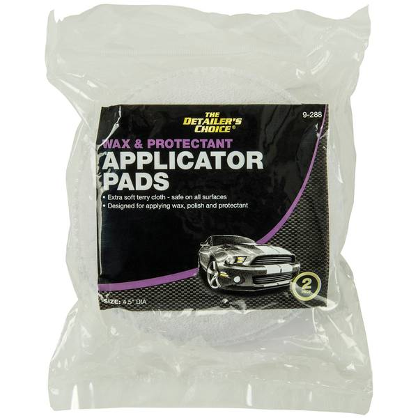 2-Pack Wax Applicator Pads