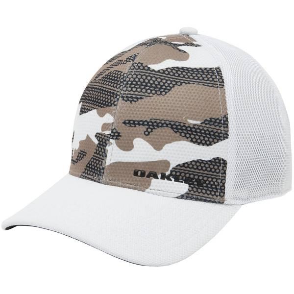 Men's Black Silicon Bark Trucker Print 2.0 Hat