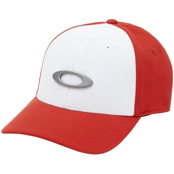 Men's White & Red Tincan Baseball Hat