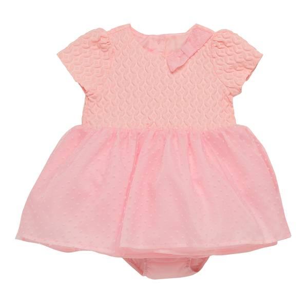Baby Girls' Pink Jacqueline Body Drey Dress