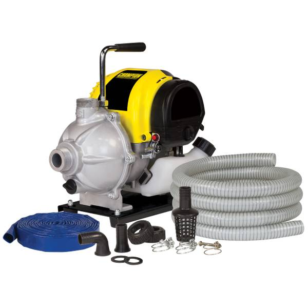 "1"" Clear Water Pump With Hose Kit"
