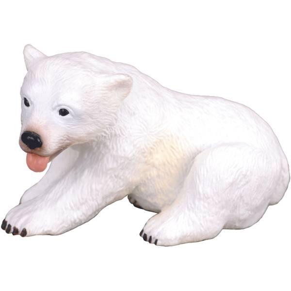 CollectA Sitting Polar Bear Cub Kid Figurine
