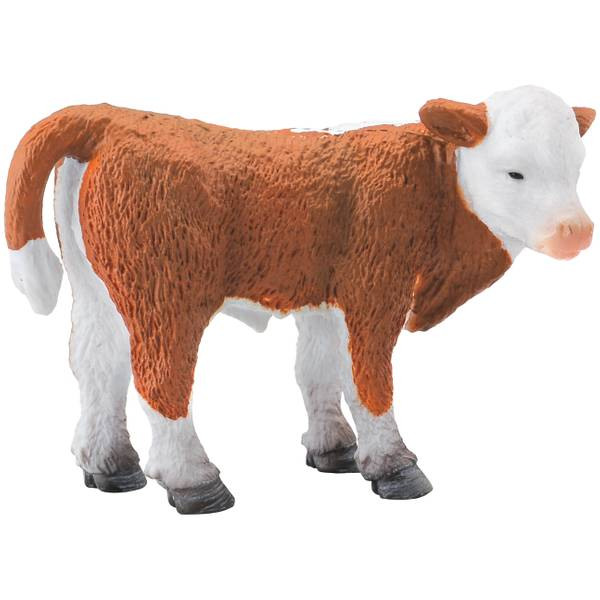 CollectA Standing Hereford Calf Kid Figurine