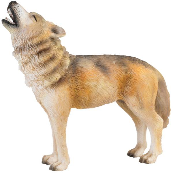 CollectA Howling Timber Wolf Kid Figurine