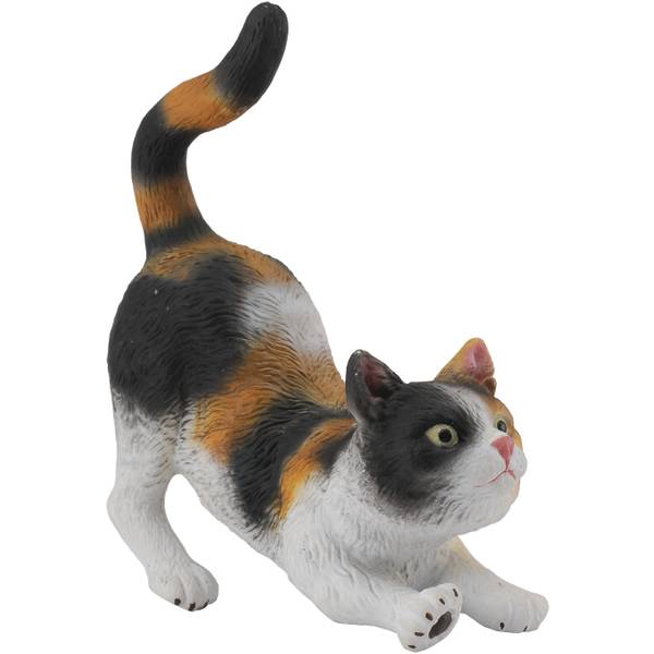 CollectA Croching Calico House Cat Kid Figurine