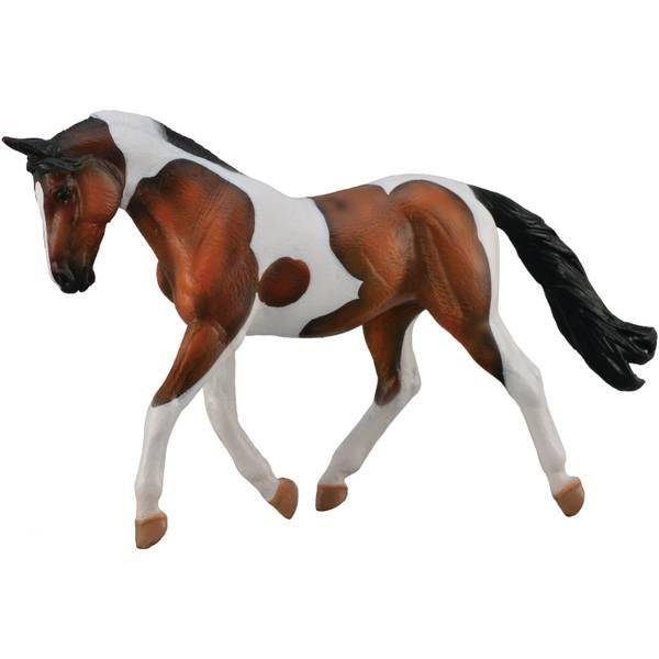 CollectA Prancing Bay Pinto Horse Kid Figurine