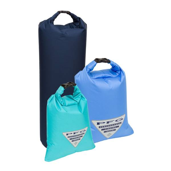 828cd9877a32 Performance Fishing Gear Low Drag Lightweight Ripstop Dry Bag Set Assorted 3 -Bag Set