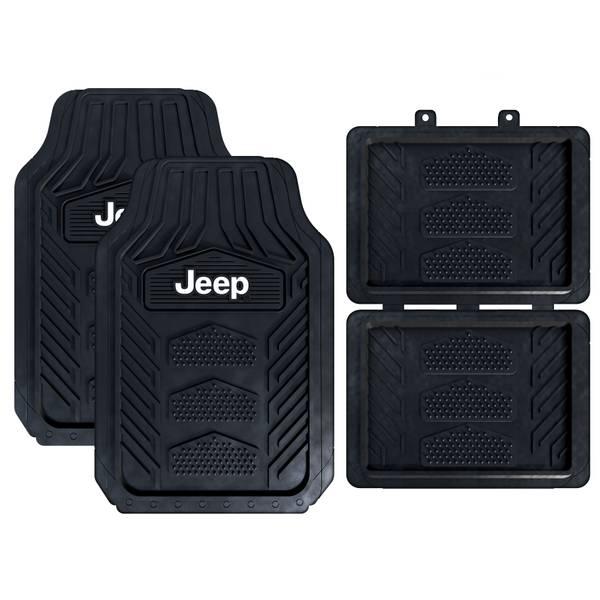 4-Piece WeatherPro Jeep Floor Mat