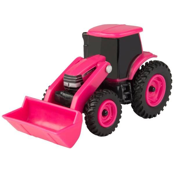 1:64 Case IH Pink Loader Tractor