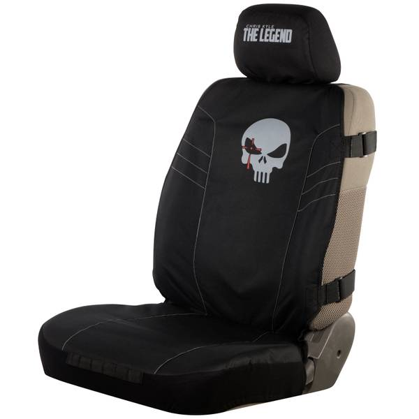 American Sniper Chris Lyle The Legend Black Low Back Seat Cover