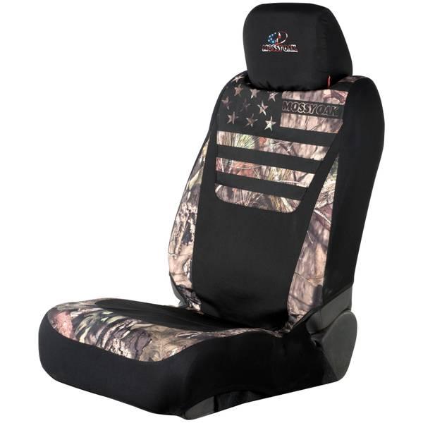 Patriotic Low Back Seat Cover
