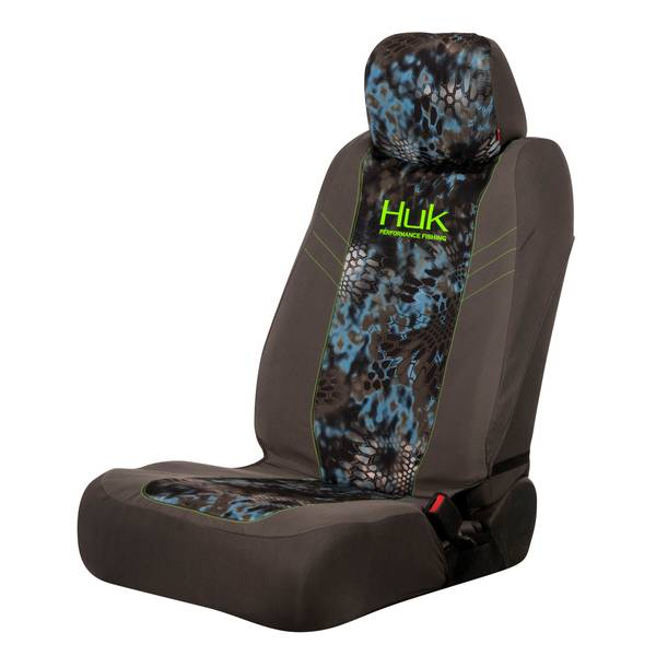 2-Piece Neptune and Green Angler Low Back Seat Covers