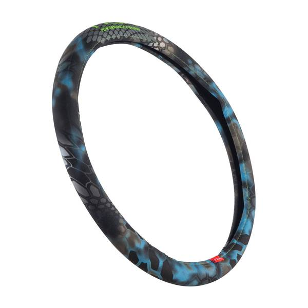 Neptune and Green Silicon Grip Steering Wheel Cover
