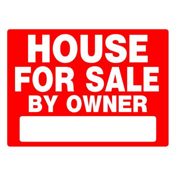 "18"" x 24"" House Sale Sign"