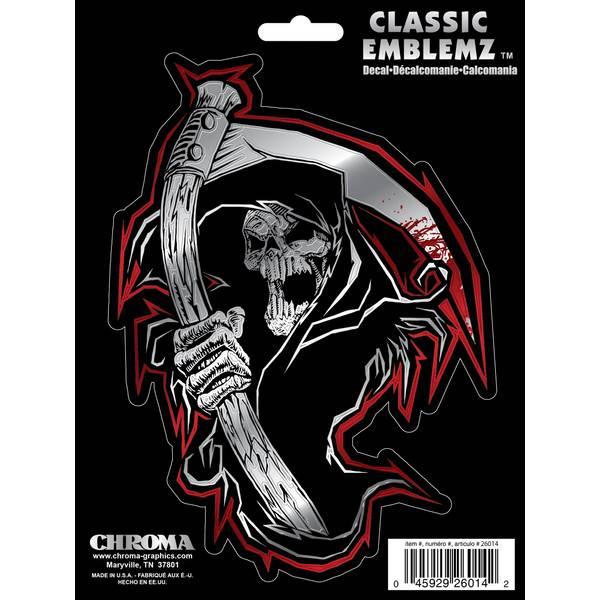 Reaper Skull Classic  Decal