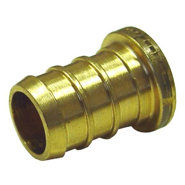 1 & 2 PEX Brass Test PLUG LF 10-Pack