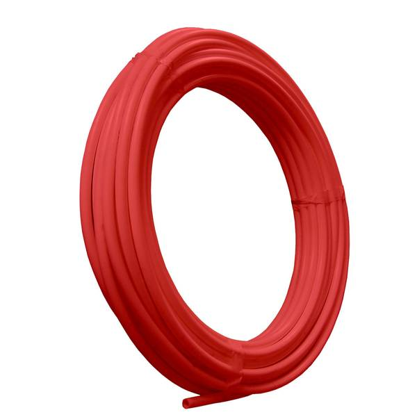 3 & 4 X 50 FOOT PEX TUBING COIL RED BC