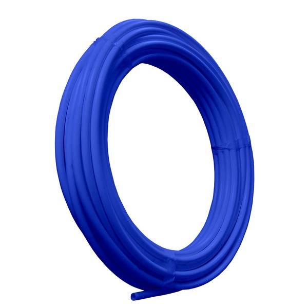 1 & 2 X 50 FOOT PEX TUBING COIL BLUE BC