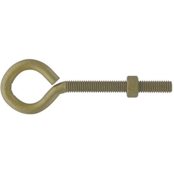 Gold 3/8-16 x 5 Forged Eyebolt