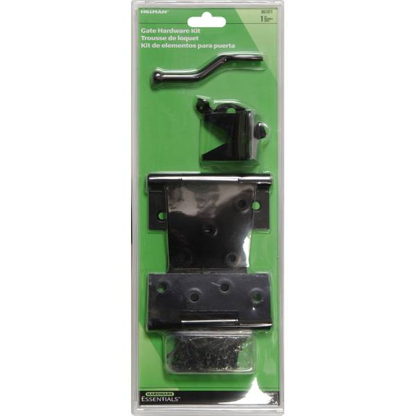 Black Cupboard Ornamental Gate Hardware Kit
