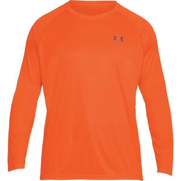 Men's Blaze Orange and Reflective Tac Hi-Vis Long Sleeve Tee