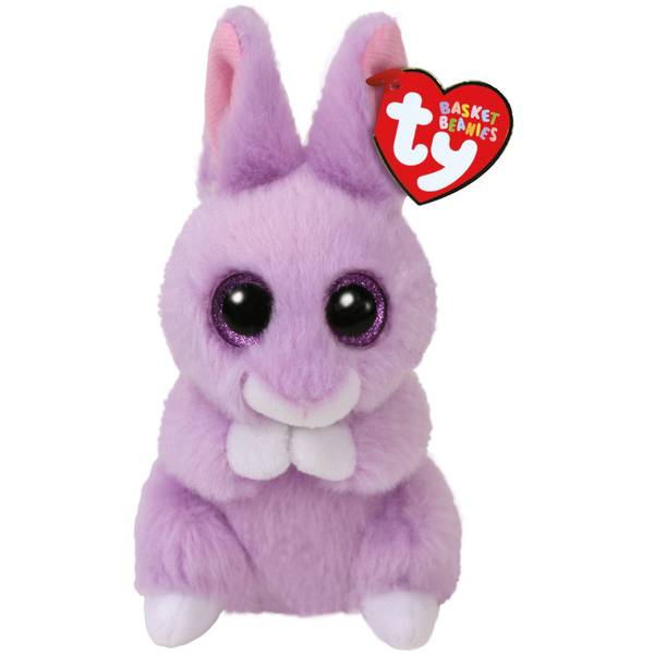 Beanie Baby April The Purple Bunny