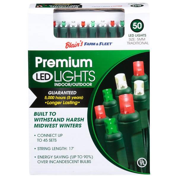 5mm 50L Traditional F&F LED Light Set