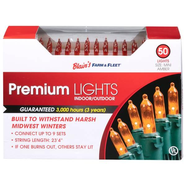 Mini 50L Amber F&F Light Set