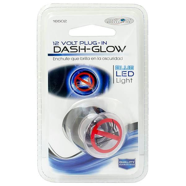 12V LED No Smoking Blue Interior Dash Light