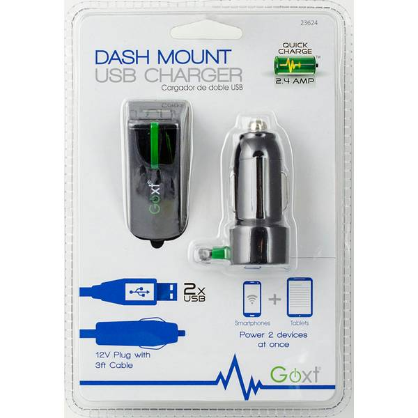 Goxt Dash Mount USB Charger