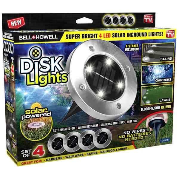 Bell & Howell Disk Lights