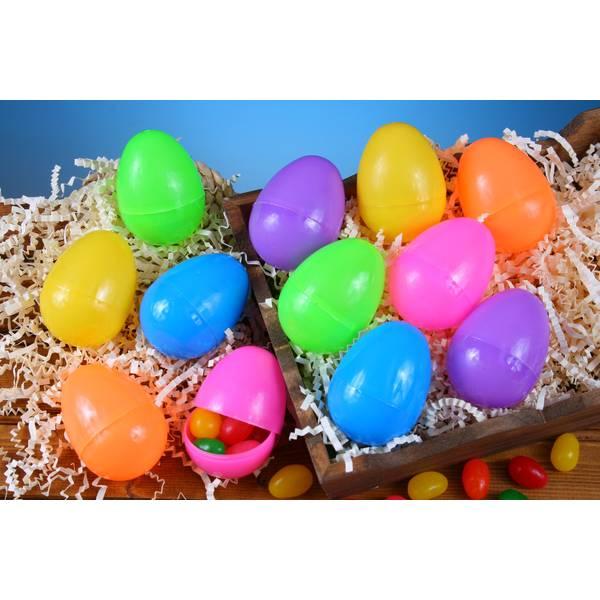 Classic Bright Plastic Eggs