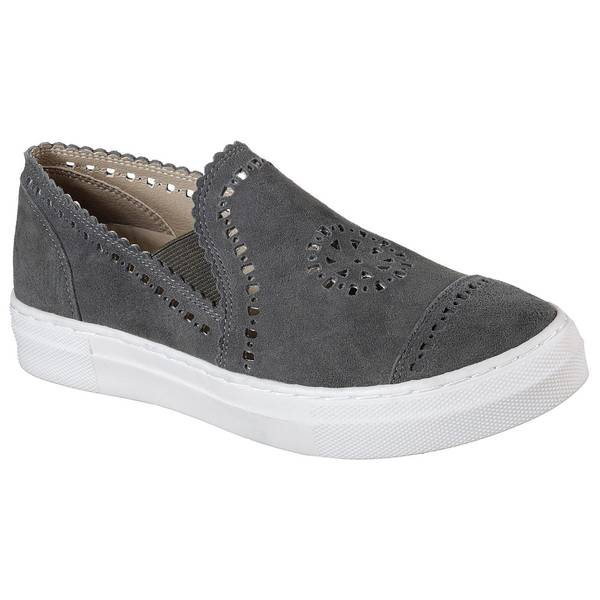 Women's Charcoal Vapor Pike Slip-On Sneakers