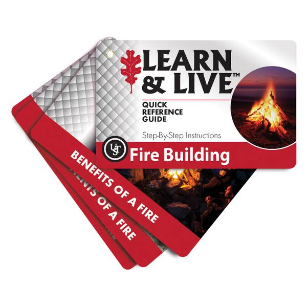 Fire Building Learn & Live Cards