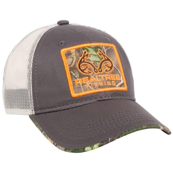 Realtree Camo Fishing Logo Meshback Cap